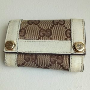 💯Auth Gucci key holder case
